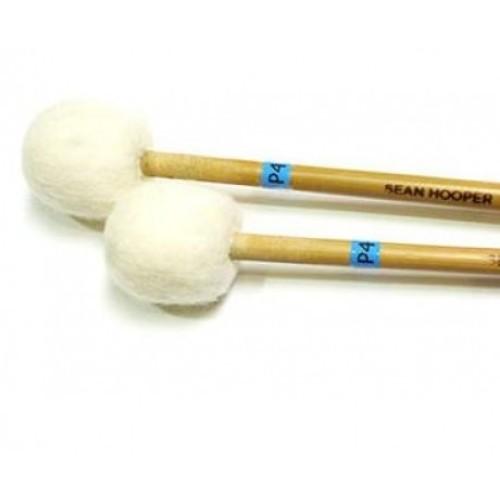 Sean Hooper P4 - Medium Soft Timpani Mallets (Small Wheelcore)