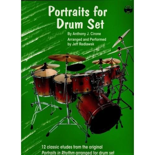 Portraits for Drum Set