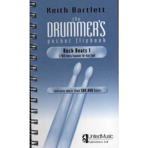 The Drummer's pocket Flipbook - Rock Beats 1