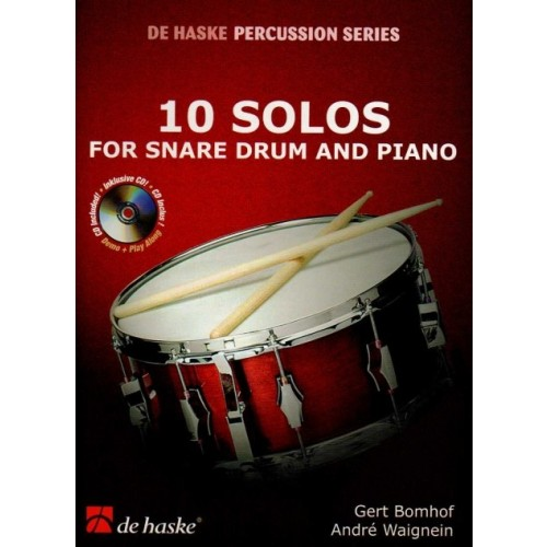 10 Solos for Snare Drum and Piano