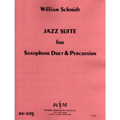 Jazz Suite For Two Saxophones And Percussion