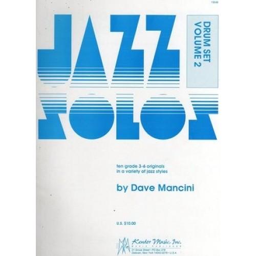Jazz Solos Drum Set Volume 2