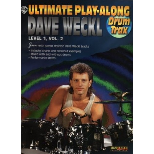 Ultimate Play-along Drum Trax: Dave Weckl, Level 1, Vol. 2