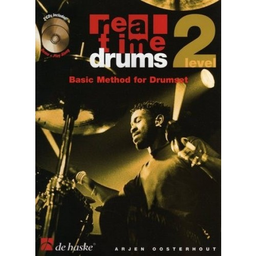 Real Time Drums - Basic Method For Drumset, Level 2