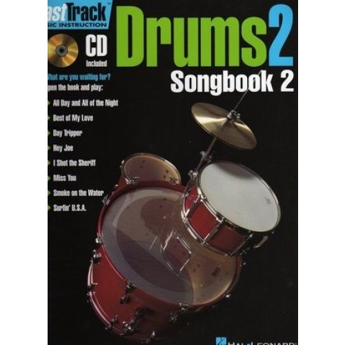 Fast Track Drums 2, Songbook 2