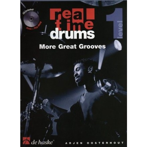 Real Time Drums - More Great Grooves, Level 1