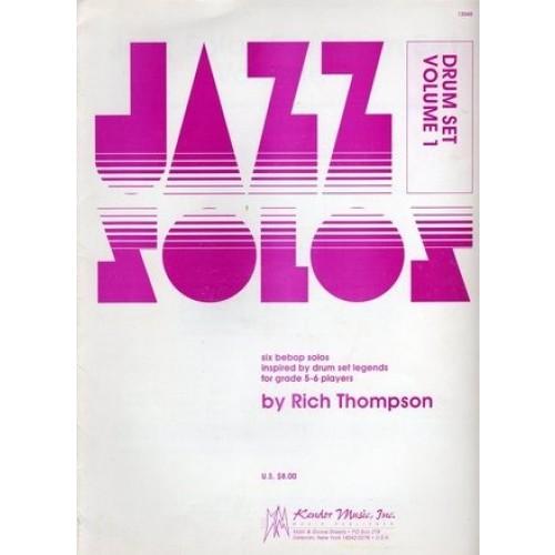 Jazz Solos Drum Set Volume 1
