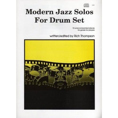 Modern Jazz Solos For Drum Set