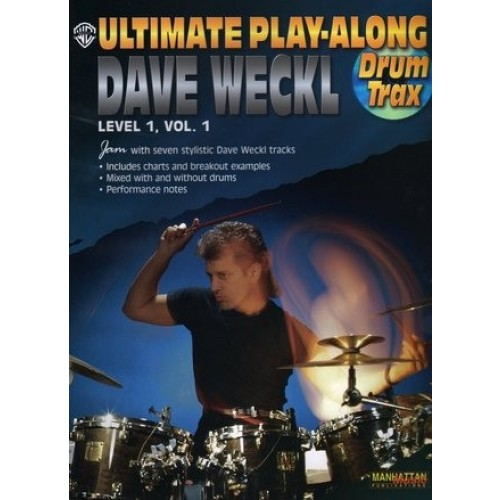 Ultimate Play-along Drum Trax: Dave Weckl, Level 1, Vol. 1