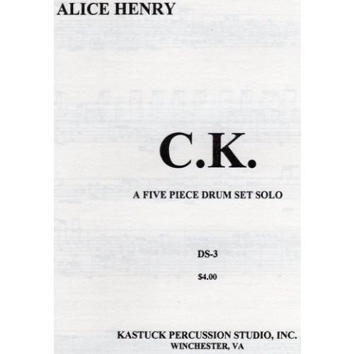 C.k. A Five Piece Drum Set Solo