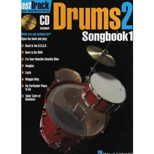 Fast Track Drums 2, Songbook 1