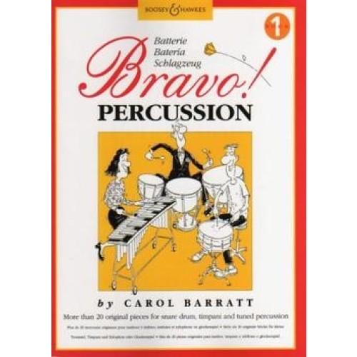 Bravo! Percussion - Book 1