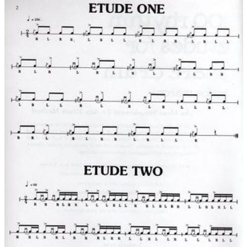 100 Rhythm Etudes For Snare Drum by Joe Maroni