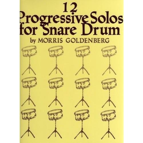 12 Progressive Solos For Snare Drum