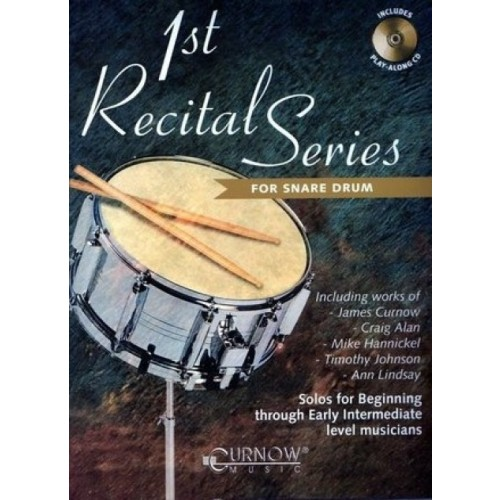 1st Recital Series For Snare Drum