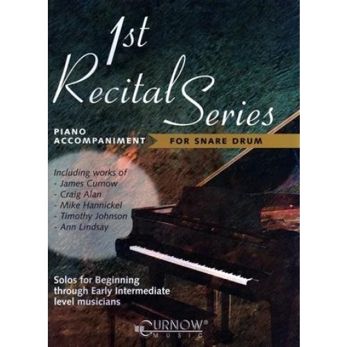 1st Recital Series Piano Accompaniment For Snare Drum