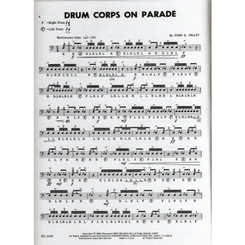 14 Modern Contest Solos' For Snare Drum