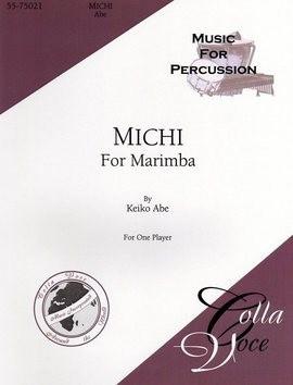 Michi For Marimba by Keiko Abe
