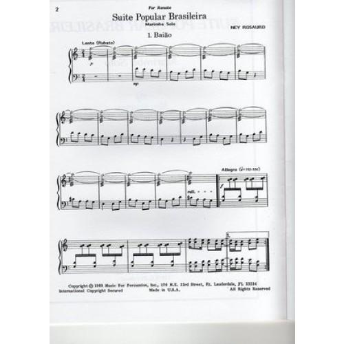 Suite Popular Brasileira by Ney Rosauro