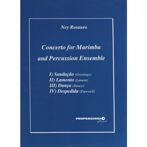 Concerto For Marimba And Percussion Ensemble by Ney Rosauro