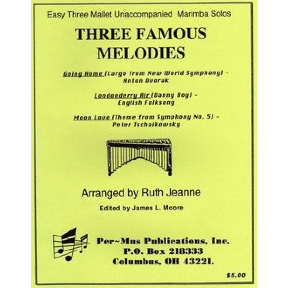 Three Famous Melodies arr. Ruth Jeanne