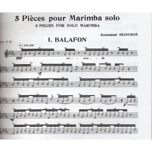 5 Pieces For Marimba