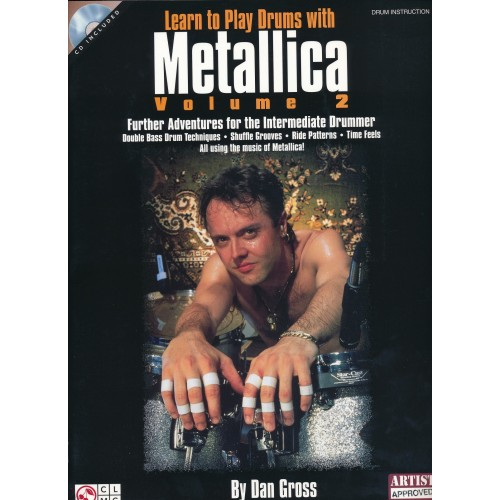 Learn To Play Drums With Metallica, Volume 2