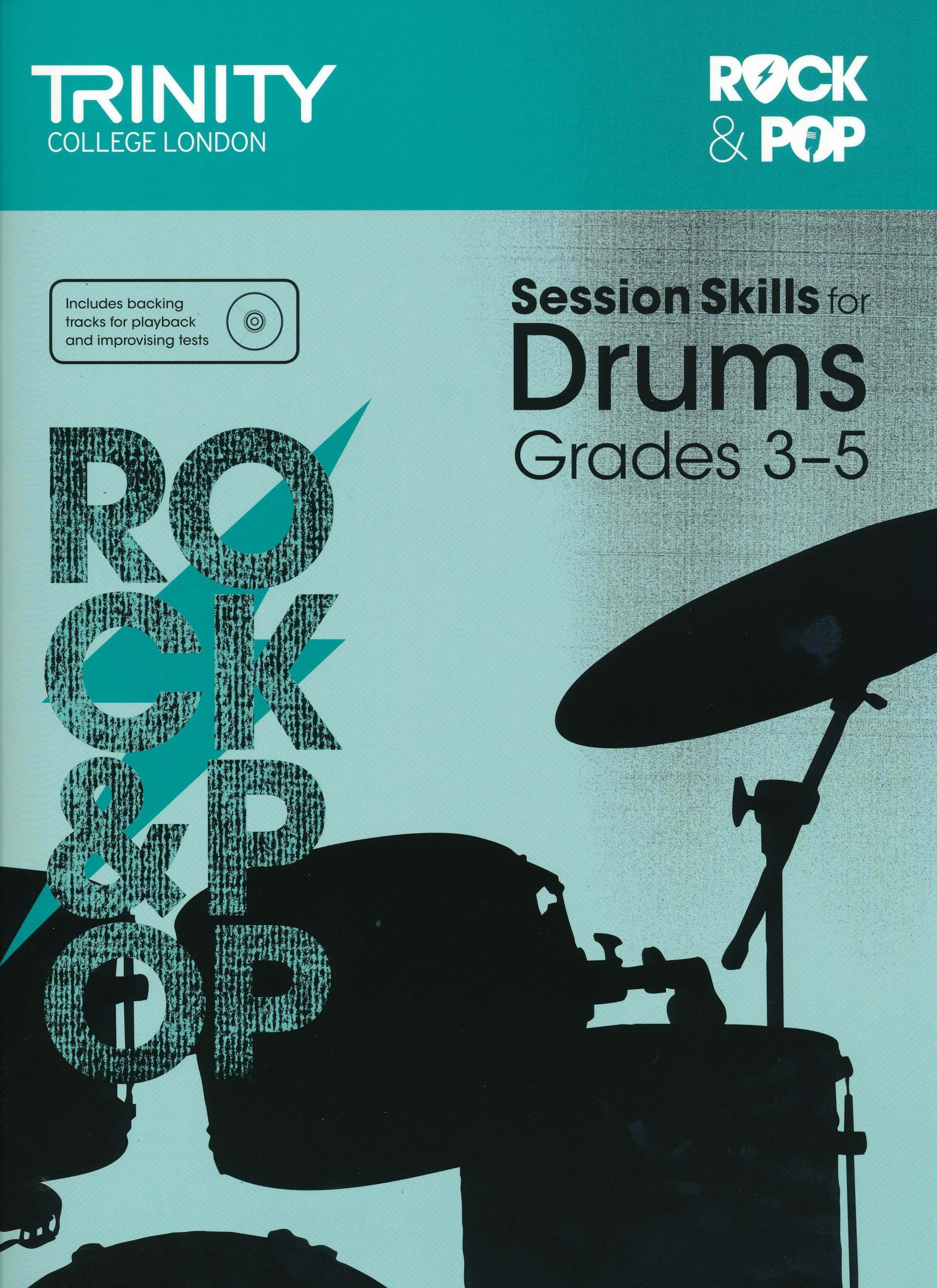 Rock and Pop Session Skills for Drums: Grades 3-5