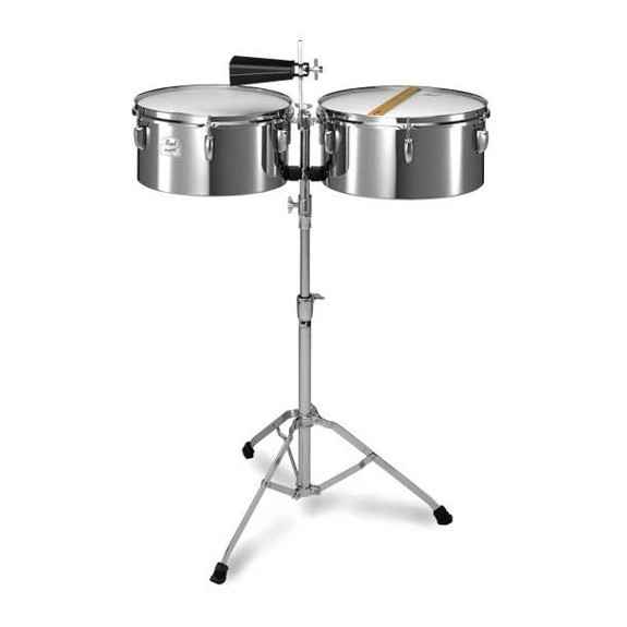 Pearl Primero Steel Timbales (13 and 14inch)