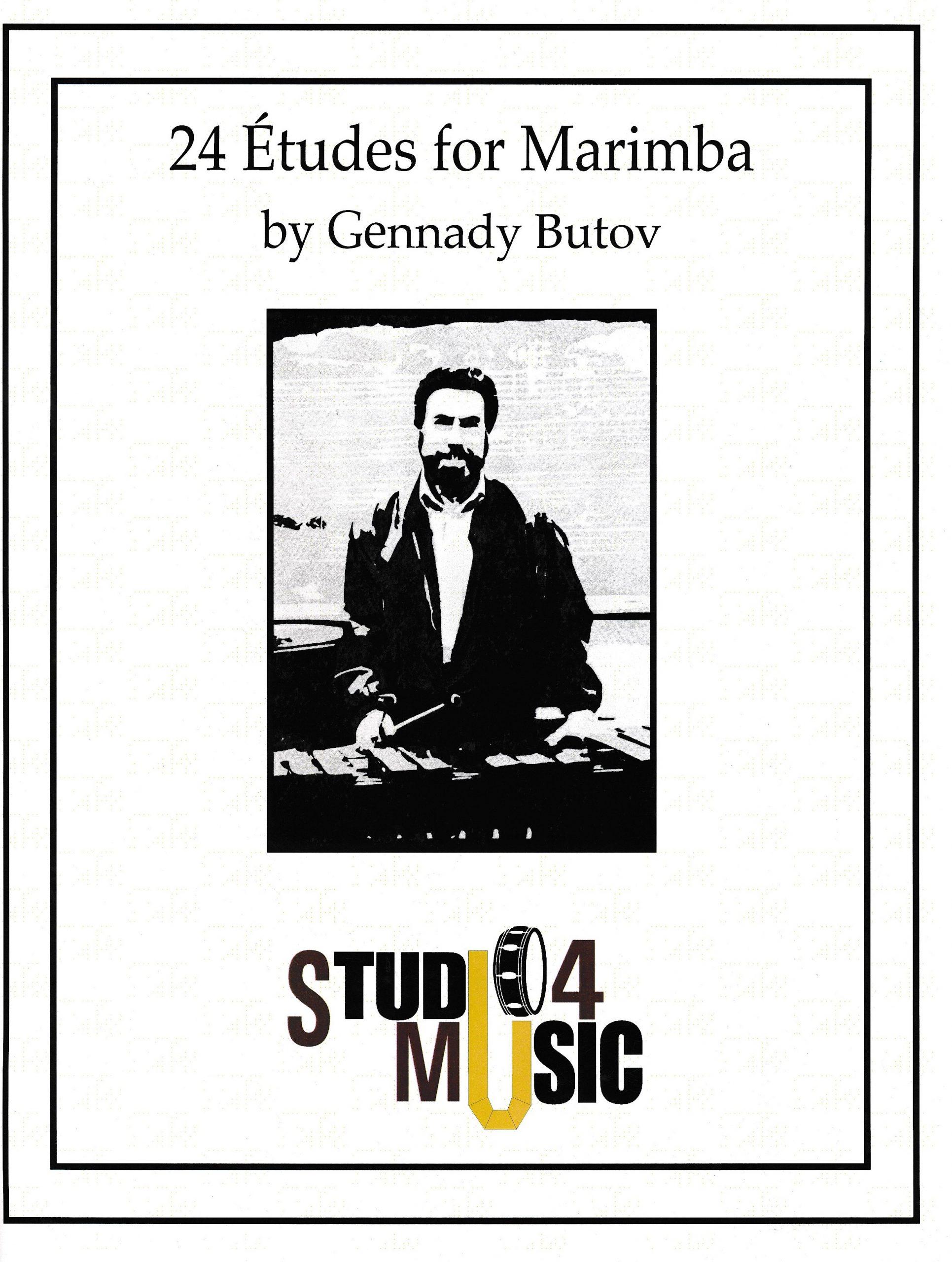 24 Etudes for Marimba