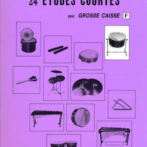 24 Etudes Courtes - Grosse Caisse