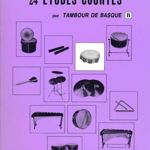 24 Etudes Courtes - Tambour De Basque