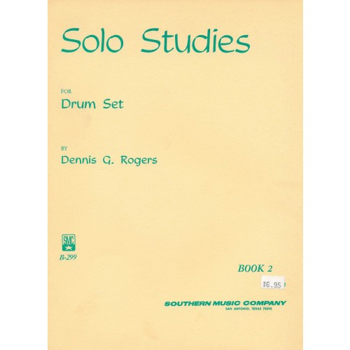 Solo Studies for Drum Set - book 2
