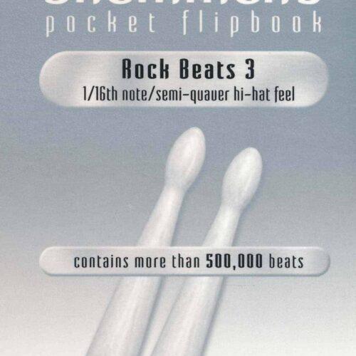 The Drummer's Pocket Flipbook - Rock Beats 3