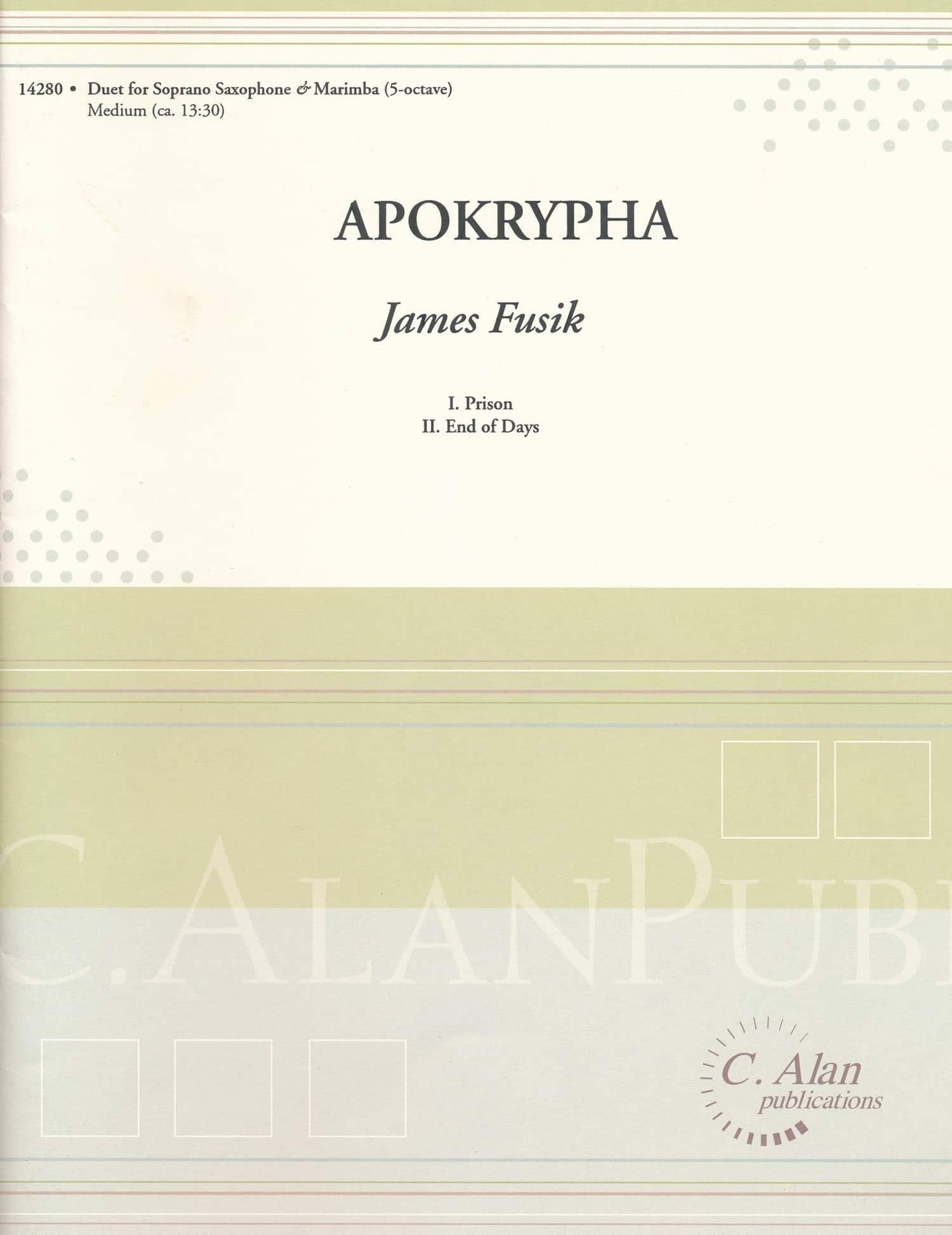 Apokrypha by James Fusik