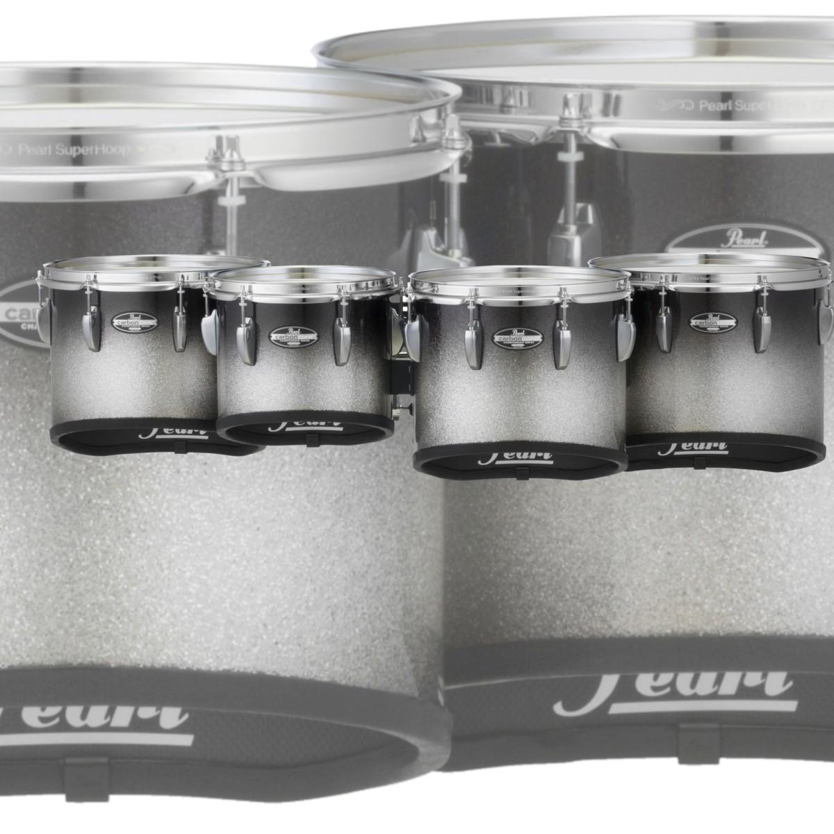 "Pearl CarbonCore Championship 8/10/12/13"" Marching Multi Tenor Drum - Quad"