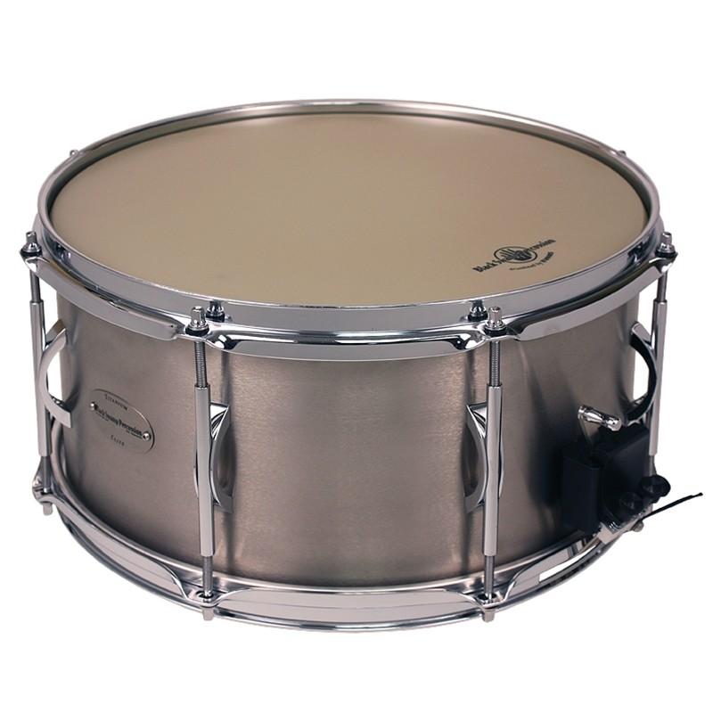 "Black Swamp: SoundArt  7x14"" - Titanium Elite Shell Snare Drum (2.3mm Hoops)"