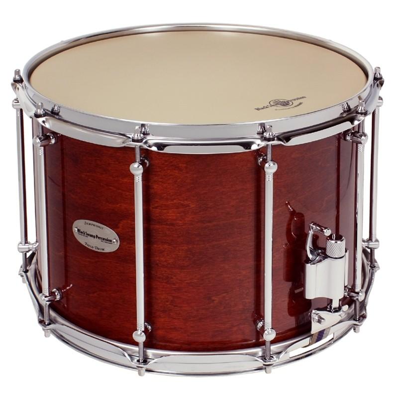 "Black Swamp: Pro10 10x14"" - Studio Series Snare Drum  (2.3mm Hoops)"