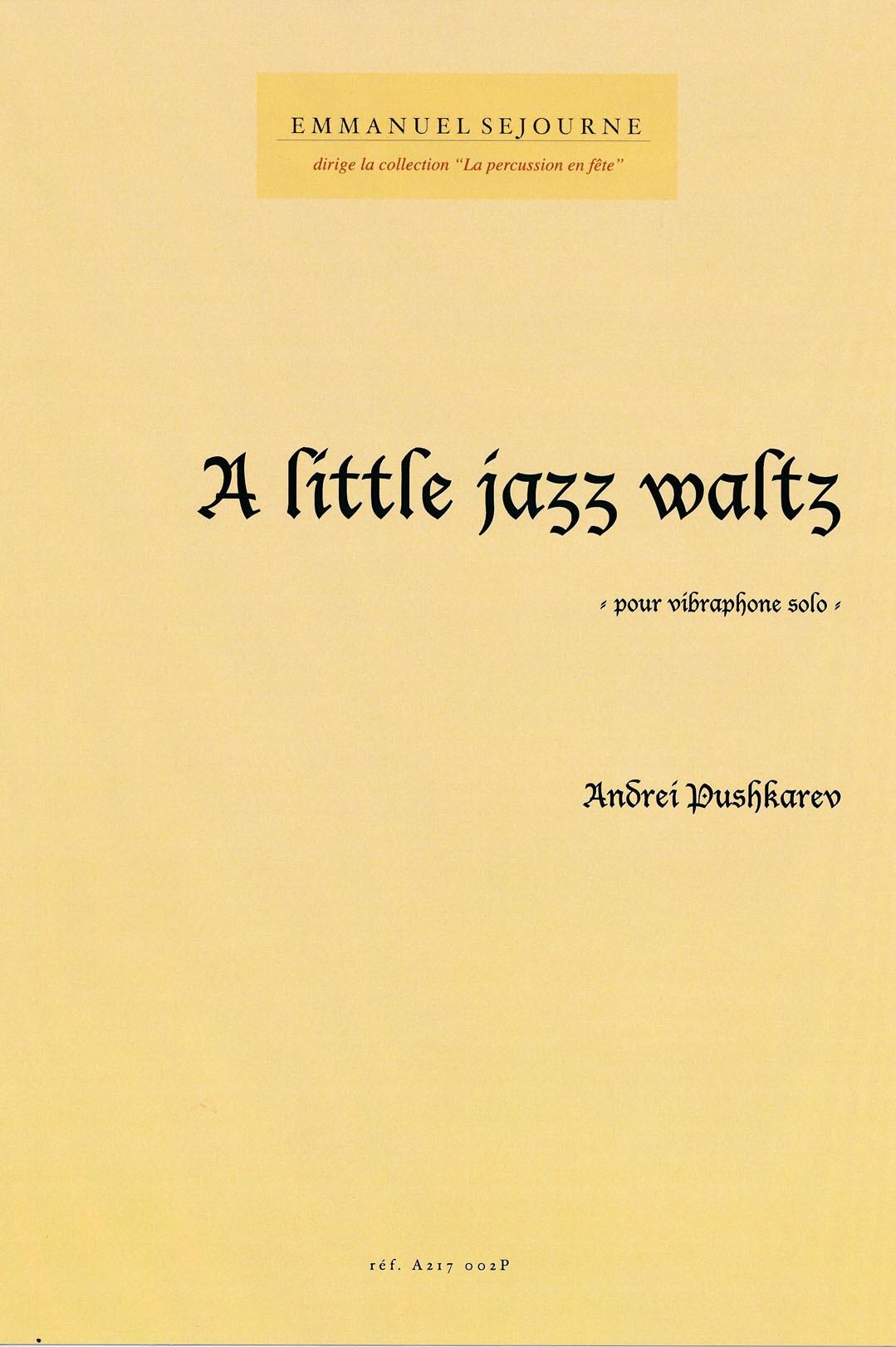 A Little Jazz Waltz by Andrei Pushkarev