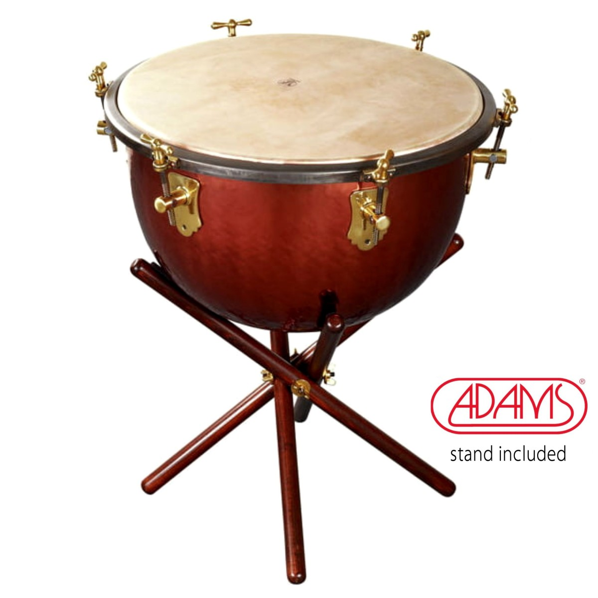 Adams Baroque Timpani Ø 23 Central Tuning System incl. stand