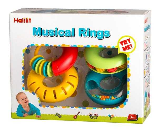 Halilit Musical Rings Set