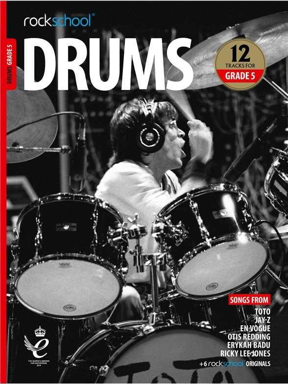Rockschool Drums - Grade 5 (New 2018+)