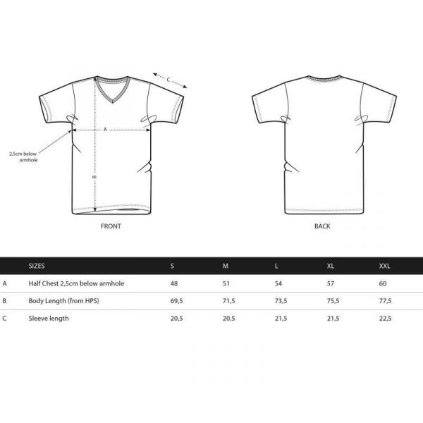 Pearl Image Wear T-Shirt V-Neck Grey Anthracite