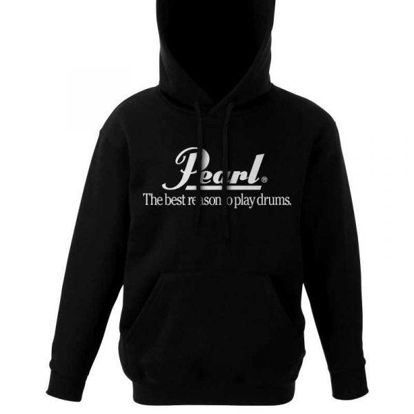 Pearl Image Wear Hooded Sweater Black