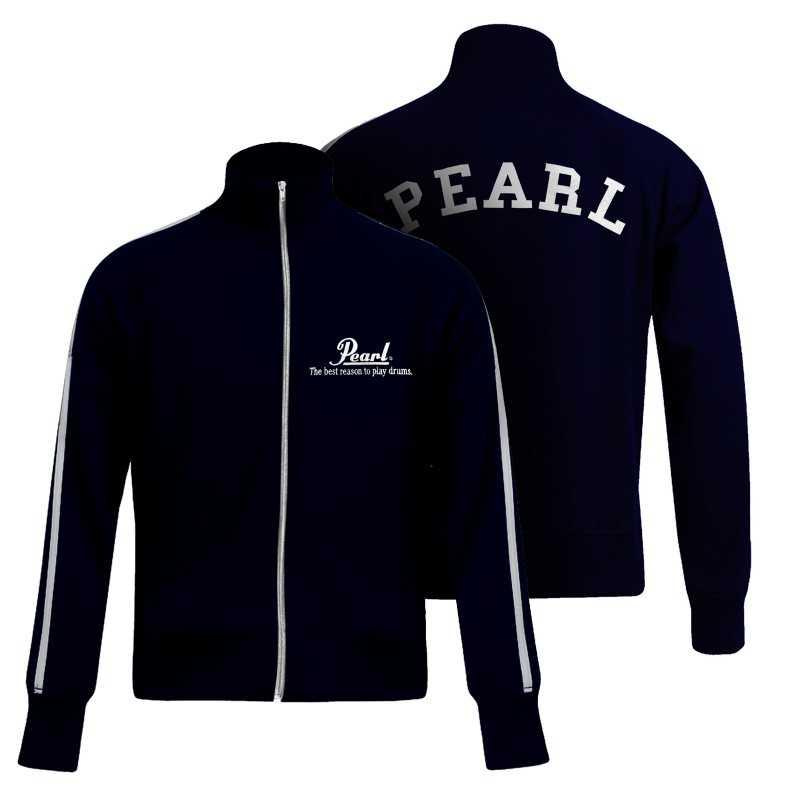 Pearl Image Wear Tracksuit Jacket Dark Blue