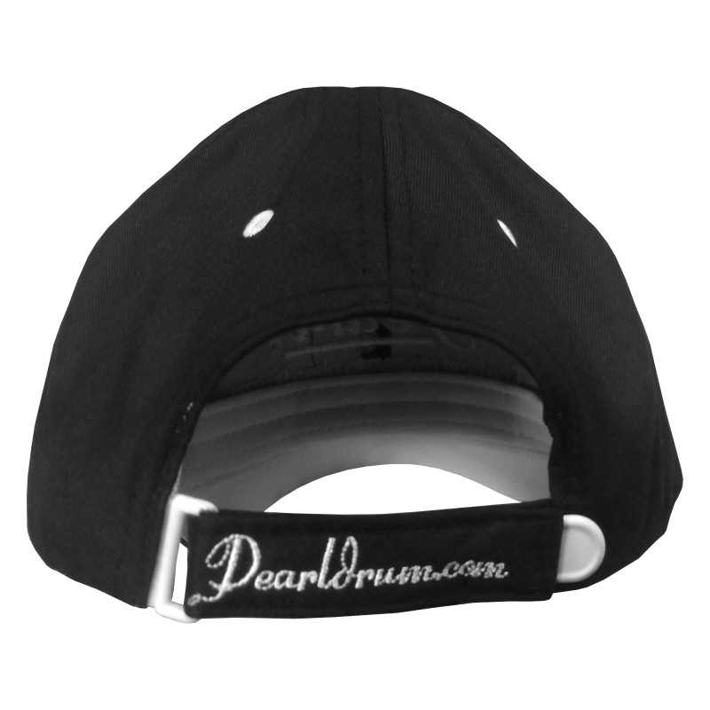 Pearl Image Wear Baseball Cap with Logo Black