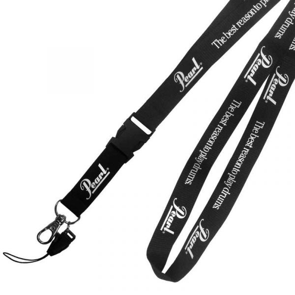 Pearl Merchandise Lanyard with Logo and Slogan