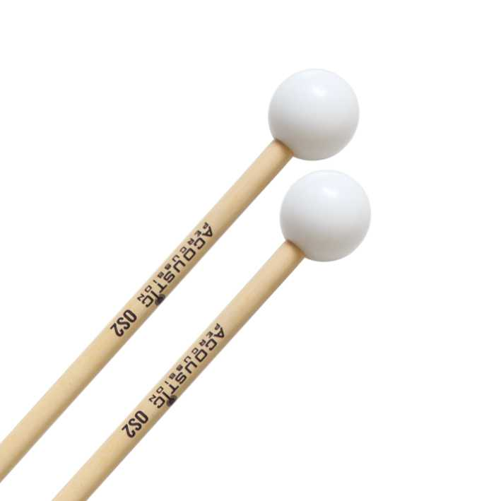 Acoustic Percussion OS2 Hard  Delrin Glockenspiel Mallets