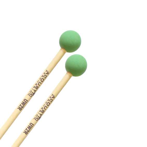 Acoustic Percussion UW2 Unwound Series Hard Rubber Mallets