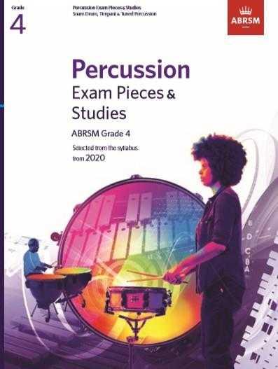 ABRSM: Percussion Exam Pieces & Studies Grade 4